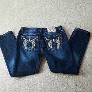 Miss Me embellished jean 32